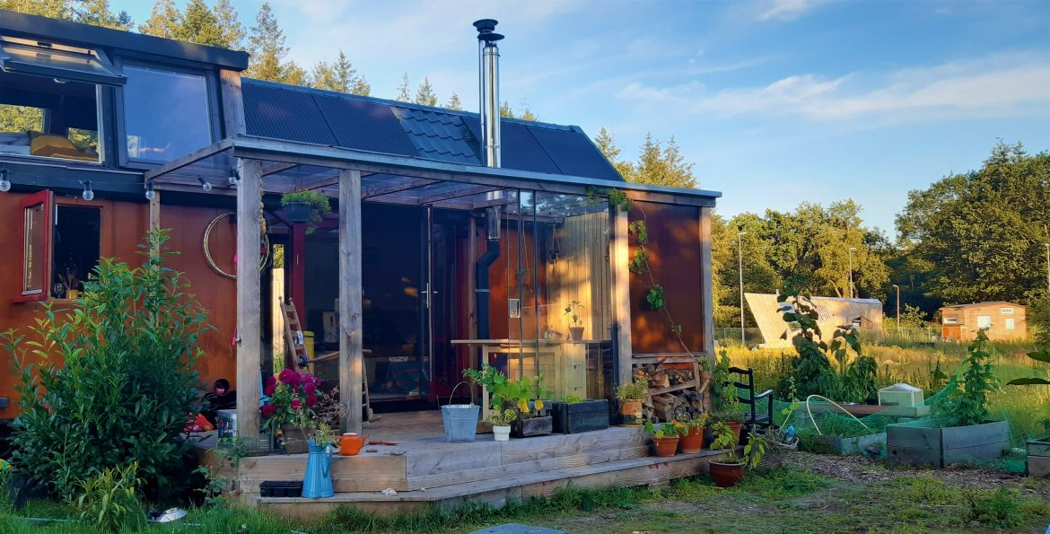 Tiny House Veranda