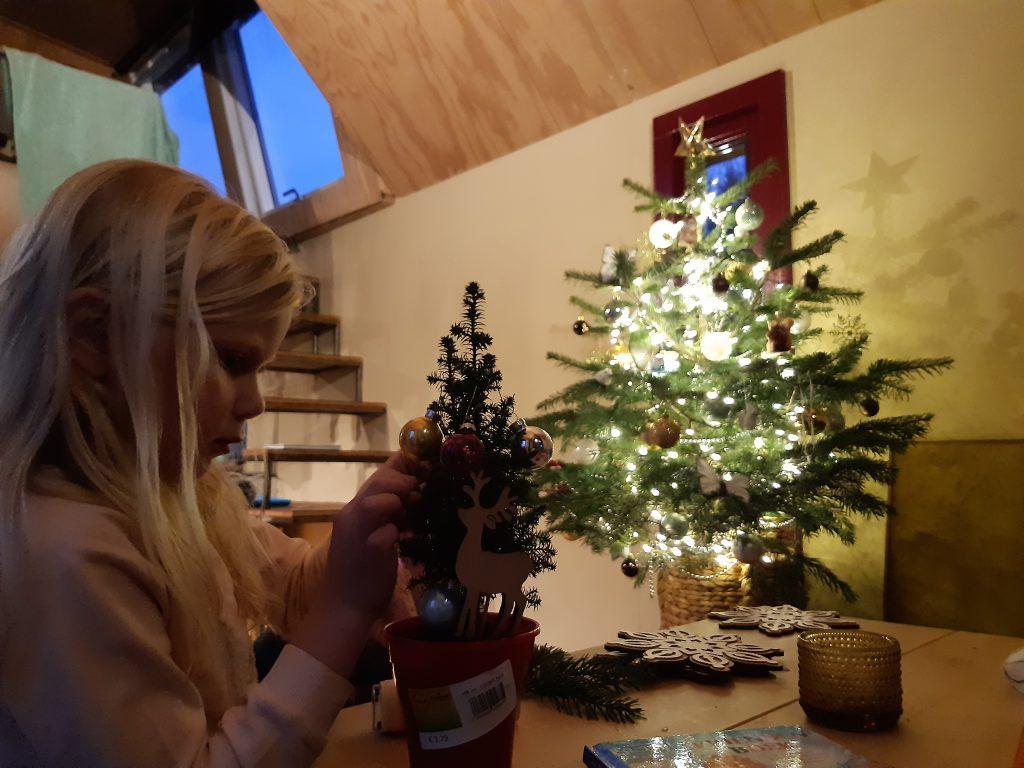 tiny house kerst